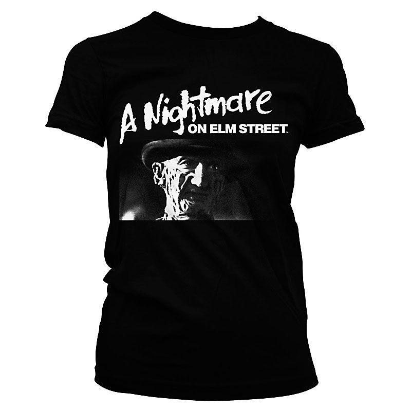 Nightmare On Elm Street dámské tričko s potiskem Logo Licenced