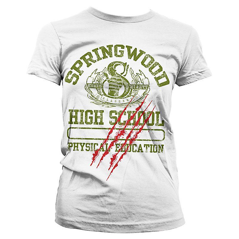 Nightmare On Elm Street dámské tričko s potiskem Springwood Licenced