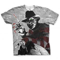 Pánské tričko Nightmare On Elm Street Allover