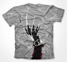 Nightmare On Elm Street pánské tričko s potiskem Allover Licenced