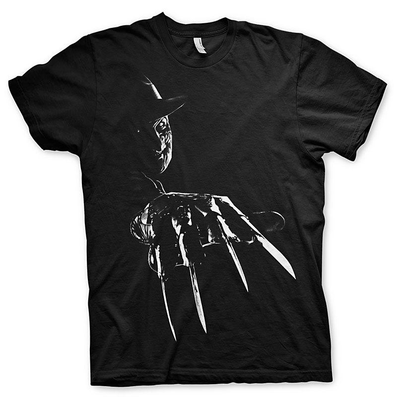 Nightmare On Elm Street pánské tričko s potiskem Freddy Krueger S