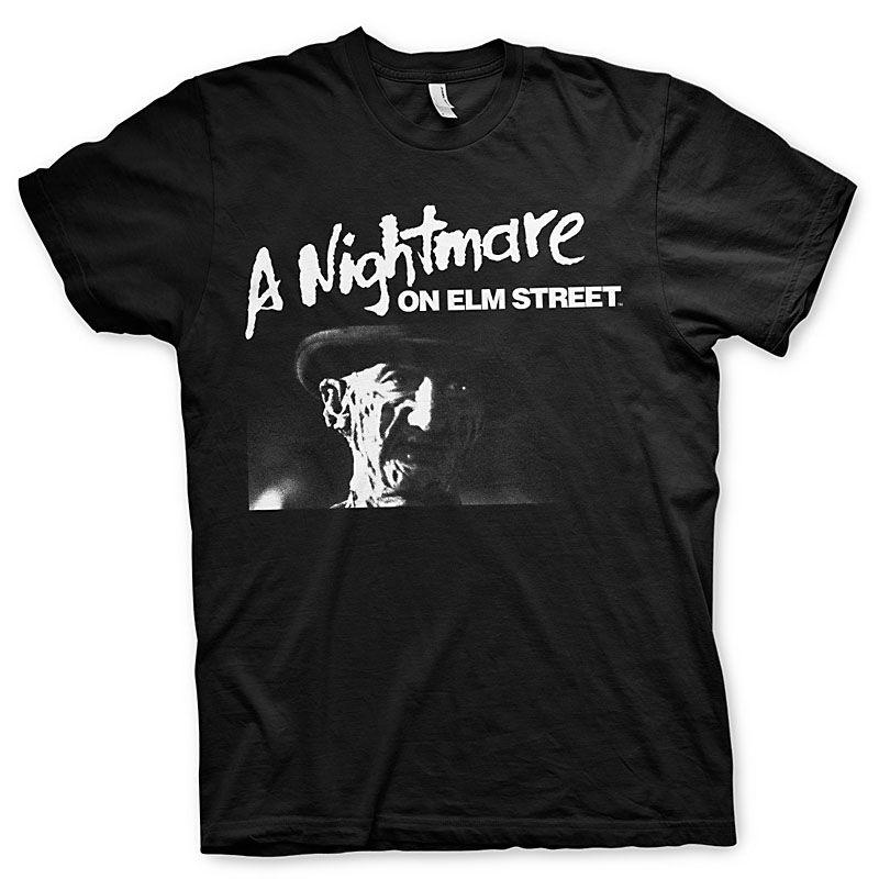 Nightmare On Elm Street pánské tričko s potiskem Logo Licenced