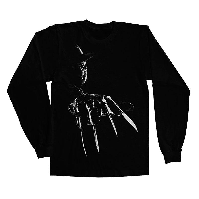 Nightmare On Elm Street tričko s dlouhým rukávem Freddy Krueger Licenced
