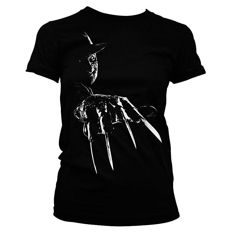 Noční můra v Elm Street dámské tričko s potiskem Freddy Krueger Licenced
