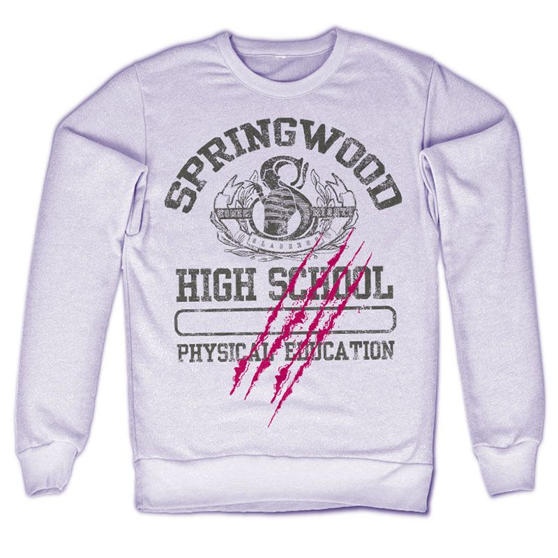 Noční můra v Elm Street mikina s potiskem Springwood High School Licenced
