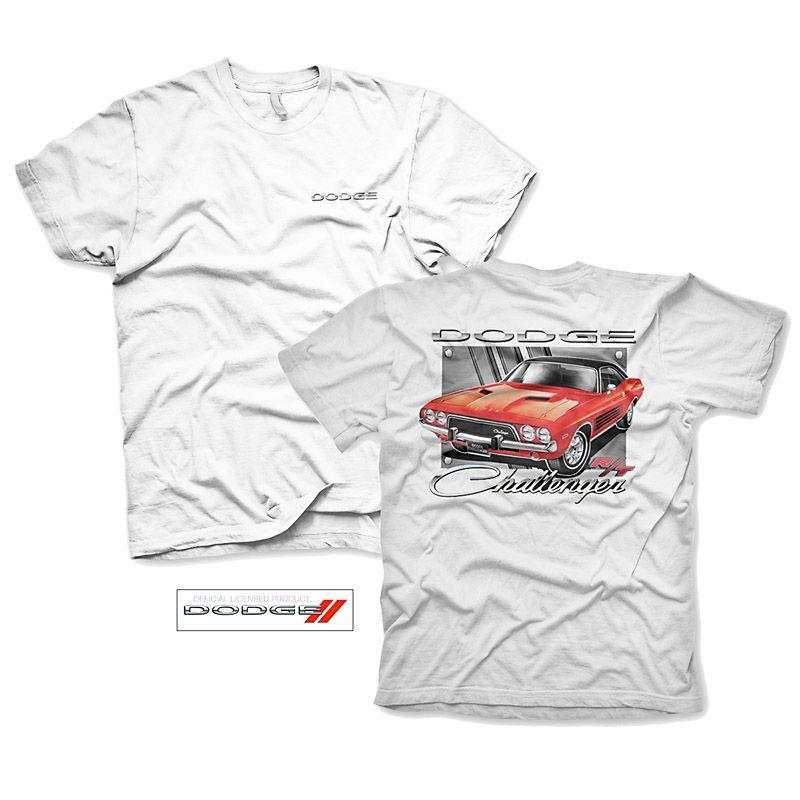 Pánské tričko s potiskem Dodge Challenger S