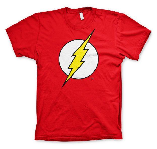 Pánské tričko s potiskem Flash Emblem Licenced