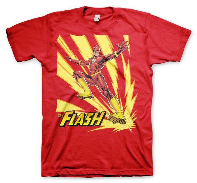 Pánské tričko s potiskem Flash Jumping Licenced