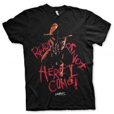Pánské tričko Nightmare On Elm Street Here I Come