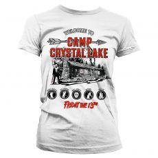 Dámské tričko Friday The 13th Camp Crystal Lake