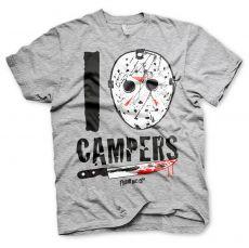 Pánské tričko Pátek 13. I Jason Campers