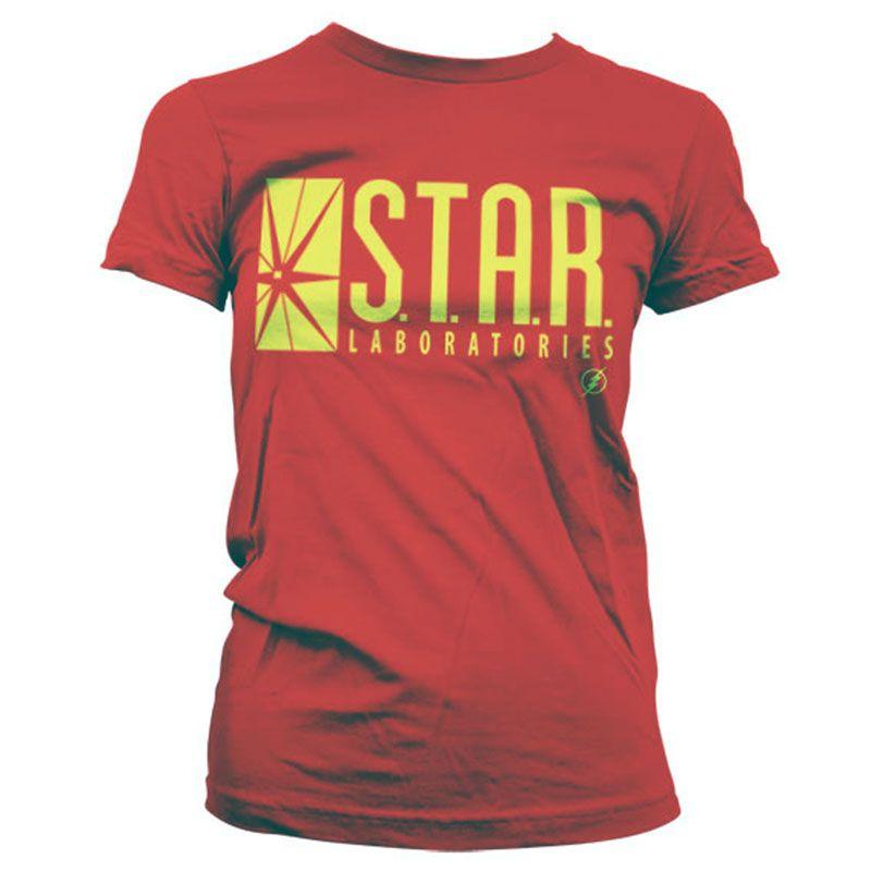 The Flash dámské tričko s potiskem Star Laboratories Licenced