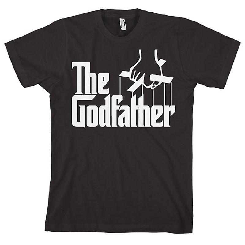 The Godfather pánské tričko s potiskem Logo Licenced