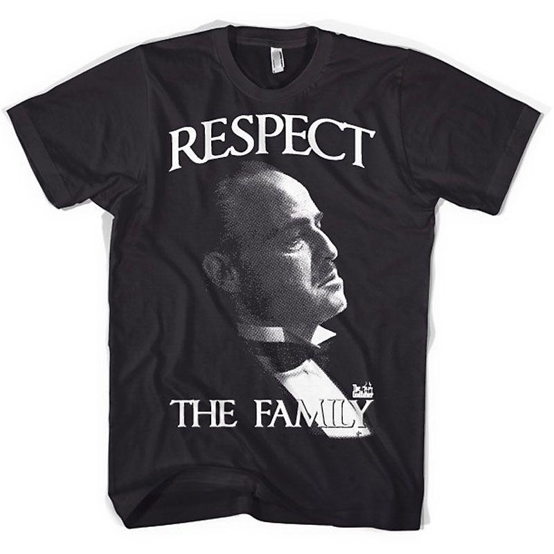 The Godfather pánské tričko s potiskem Respect The Family Licenced