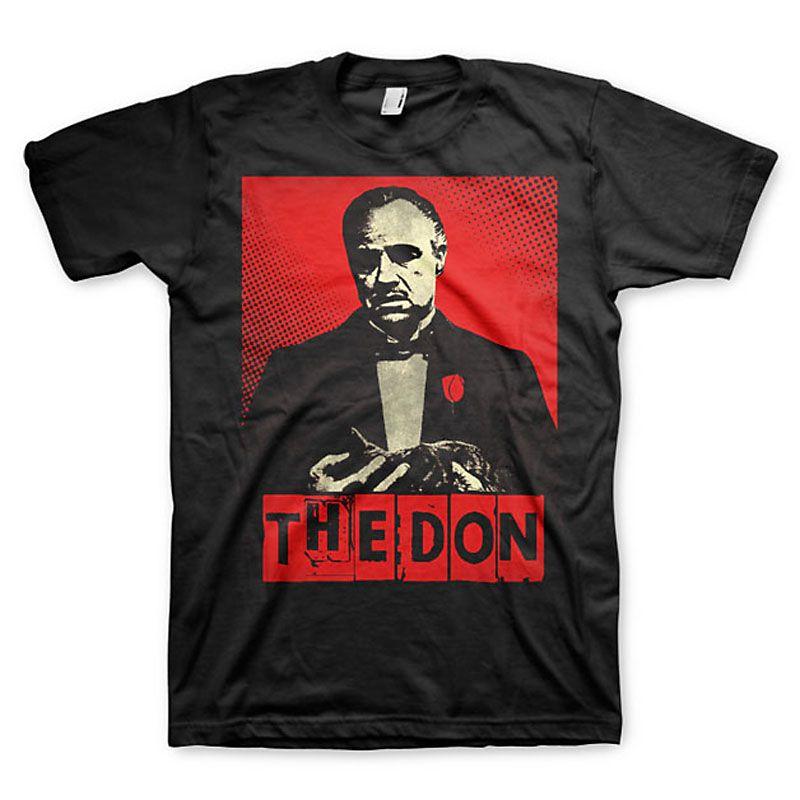 The Godfather pánské tričko s potiskem The Don Licenced