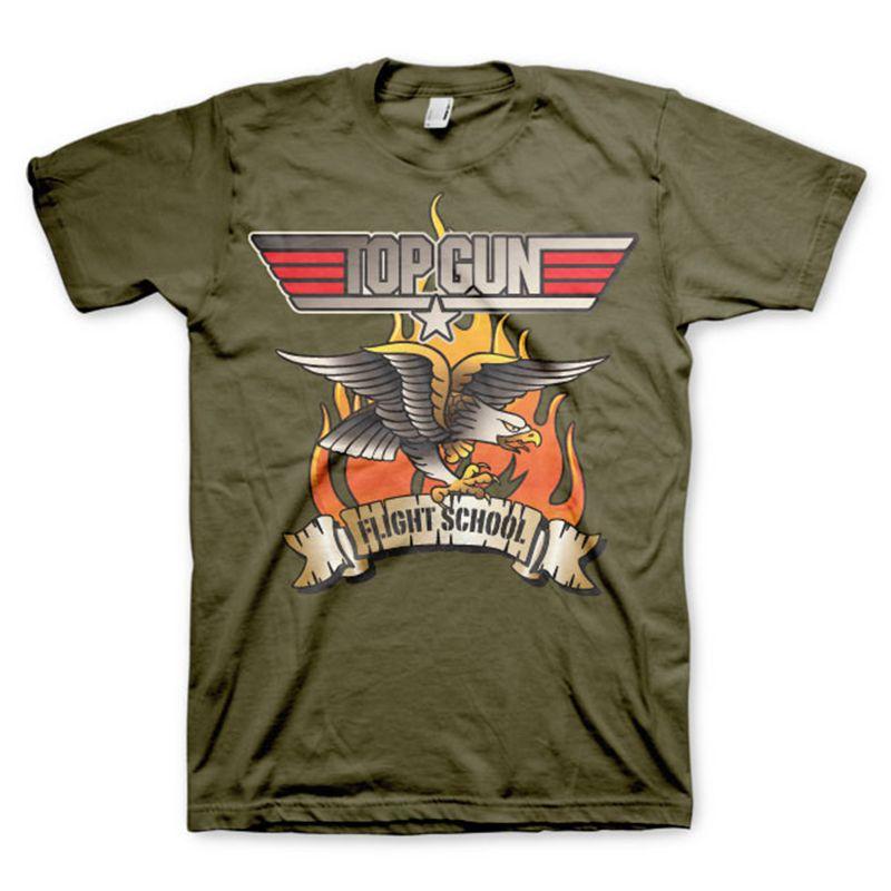 Top Gun pánské tričko s potiskem Flying Eagle Licenced