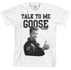 Pánské tričko Top Gun Talk To Me Goose