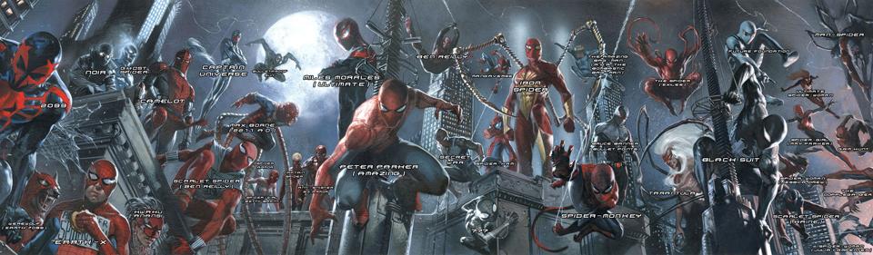 Spider-Manovi verze