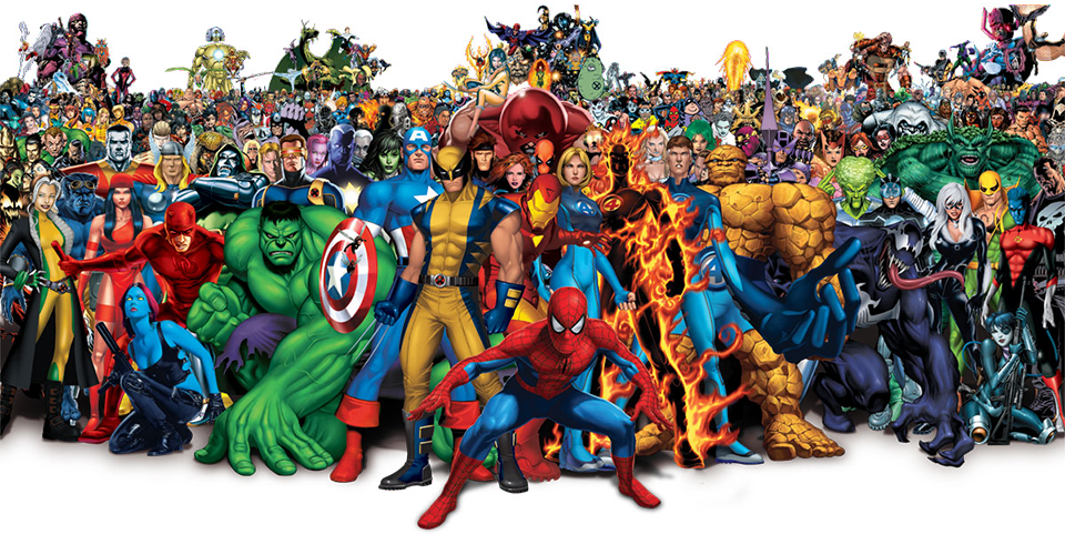 Marvel hrdinove