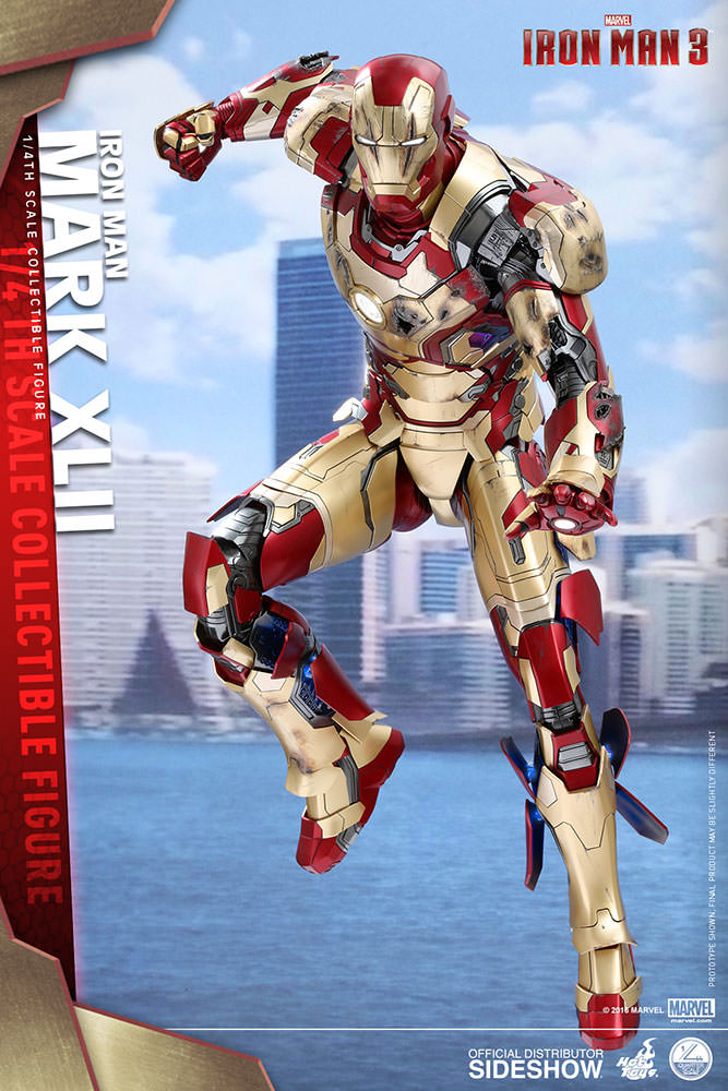 Preview Iron Man Mark XLII QS Series 51 cm sběratelská